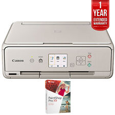 Canon TS5020 Wireless Inkjet All-In-One Printer Grey w/ PaintShop Pro X9 Bundle