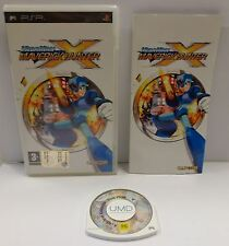 Console Game Gioco UMD Playstation PSP EUR - MEGA MAN MAVERICK HUNTER X Capcom -