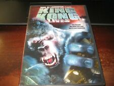 King Kong Lives; Dvd; Like New; + Scene Selector; Dino De Laurentiis Classic