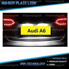 PREMIUM Audi A6 C6 Bright Xenon White LED Number Plate Light Bulbs