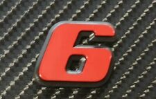 PEUGEOT 306 GTI6 GTI-6 RED 6 BADGE NEW REPRODUCTION