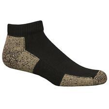 Ultimate Protection Copper Sole Athletic Low Cut Socks Unisex Medium 1-pr Black