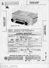 Automatische Modelle RAP-100, RP-470 am Empfänger-Photofact