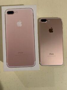 Apple iPhone 7 Plus - 128GB - Rose Gold (Verizon) A1661 (CDMA + GSM)
