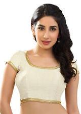 NW Polyester Silk Blouse Top Choli Dress Bollywood Wedding Saree BellyDance SARI