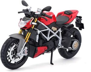Maisto 5-11024 Ducati Model Streetfighter S (Black Red, Scale 1:12) Motorcycle