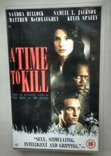 A Time To Kill VHS Sandra Bullock Kiefer Donald Sutherland Matthew McConaghey