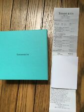 Authentic Tiffany & Co. Blue TealEmpty Boxes