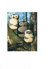 Toy Owl Family to Knit Knitting Patterns PATTERN ONLY-Double DK ±011
