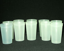 12  20 Ounce Glow in the Dark Plastic Drinking Glasses, Top Quality Mfg USA
