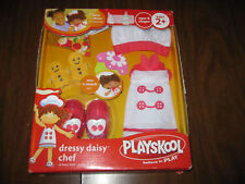 Playskool Dressy Daisy Chef Doll Dress Up Outfit New Box Apron Kitchen Cook Food