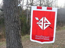 SOUTHEAST MISSOURI STATE UNIVERSITY Flag, Embroidered by Evergreen, SUPER SIZE