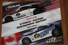 2014 Doran Racing Nissan 370Z GS IMSA CTSC postcard