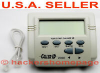 Home & Business Incoming & Outgoing Telephone Number DTMF Decoder & Call Logger