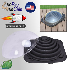 Natural Solar Dome Water Heater For Outdoor Swimming Pool With Cover WITHOUT GAS