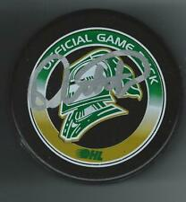 Dale Hunter Signed London Knights Official Game Puck Washington Capitals