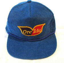 Ore Ida Blue Corduroy Baseball Cap