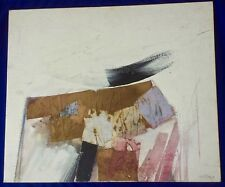 "Signed ORIGINAL ABSTRACT Painting & Collage by  Ronald AHLSTROM - 20"" x 24"""