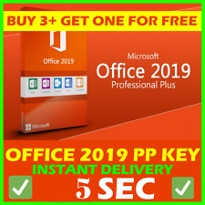 Microsoft Office 2019 Pro Plus 🔥 Lifetime ⚡ License Key 🔑 For Windows 🏆5 Sek⌛
