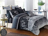 COSTA Double Size Bed Duvet/Doona/Quilt Cover Set New