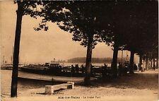 CPA   Aix-les-Bains - Le Grand Port  (352090)