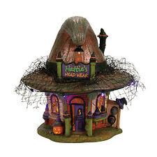 Dept 56 Halloween Snow Village Hatties Hat Shop 4056700 NEW Witch Hollow NIB