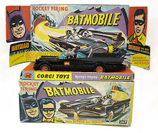 Vintage CORGI 267 Rocket Firing BATMOBILE w/ Batman & Robin