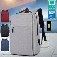 20b9450752 15.6inch Laptop Men Nylon Backpacks Business Casual Square Backpack  Rucksacks