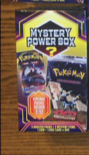 Pokemon Mystery Power Box Booster Packs Sealed 2020