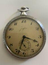 Junghans  Taschenuhr 900er Silber ,3 Deckel,silber,ca.1930