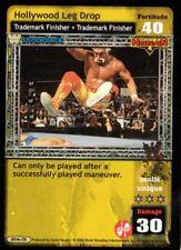 WWE: Hollywood Leg Drop (Throwback) for Hulk Hogan [Lightly Played] Raw Deal Wre