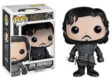 Funko POP! Game of Thrones #26 Jon Snow Castle Black Vinyl Figure New