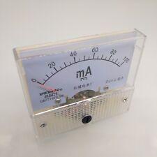 Us Stock Analog Panel Amp Current Ammeter Meter Gauge 85c1 0 100ma Dc