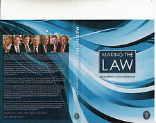 Making The Law:2012 Edition:57th Parliament-Goverment Australia-DVD