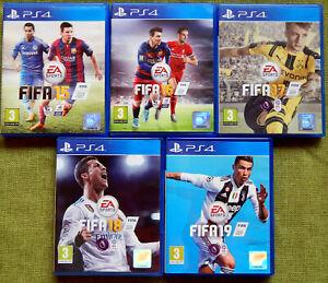 FIFA 15, 16, 17, 18, 19 (PS4, Region Free, PlayStation 4, Game)