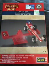 Revell Pinewood Derby scale and weight set