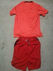 Nike Dri Fit Running Shorts & Shirt