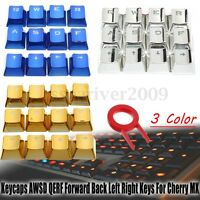 Keycaps Transparent AWSD QERF Forward Back Key Caps For Cherry MX Keyboard