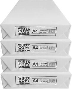 White Printing Paper A4 80GSM Plain Printer Sheet Reams