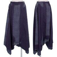 ISSEY MIYAKE HaaT Dropped Crotch Pants Size 1(K-81034)
