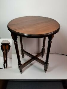 Vintage Collapsible Portable Accent Side Table