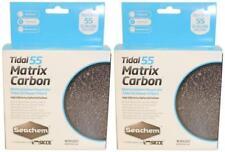 (2 Pack) Seachem Tidal 55 Matrix Carbon Pouches For Tidal 55 Power Filters