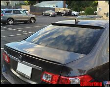COMBO Rear Roof Wing & Trunk Lip Spoiler (Fits: Acura TSX 2009-14 CU2)