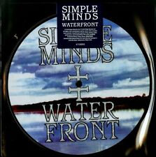 """SIMPLE MINDS WATERFRONT VINILE 7"""" PICTURE DISC RECORD STORE DAY 2015 NUOVO"""
