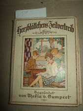 Herzblättchens Pastime Band 74,ca.1930, year book for children, stories