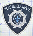 CANADA, VILLE DE BLAINVILLE SERVICE INCENDIE FIRE DEPT QUEBEC PATCH