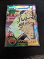 TONY KUKOC CHICAGO BULLS 1992-93 Topps Finest ROOKIE CARD RC Mint