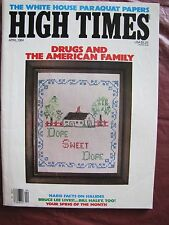 High Times # 104 Drugs & The American Family