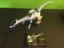 "WowWee 28"" Roboreptile 2006 Raptor Dinosaur Robot Without Remote"