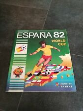 Panini Espana 82 Empty Leer Album Vuoto Spain 1982 Sticker Album Badge